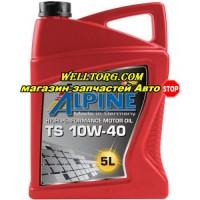 Моторное масло 10W40 0100082 Alpine TS