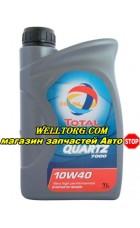 Моторное масло 10W40 166049 Total Quartz 7000