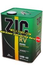 Моторное масло 10W40 ZIC RV Diesel 4л