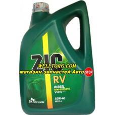Моторное масло 10W40 ZIC RV Diesel 6л