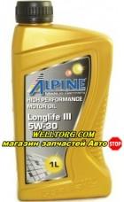 Моторное масло 5W30 0100281 Alpine Longlife III
