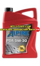 Моторное масло 5W30 0101382 Alpine PSA