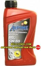 Моторное масло 5W40 0100141 Alpine RSL