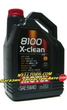Моторное масло 5W40 102051 Motul 8100 X-clean