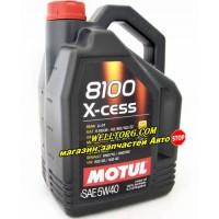 Моторное масло 5W40 104256 Motul 8100 X-cess