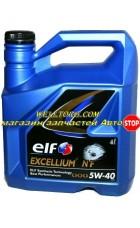 Моторное масло 5W40 156335 Elf Excellium NF
