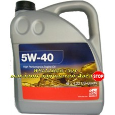Моторное масло 5W40 32937 Febi