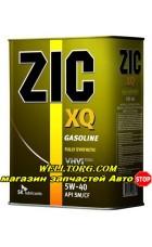 Моторное масло 5W40 ZIC XQ 4л
