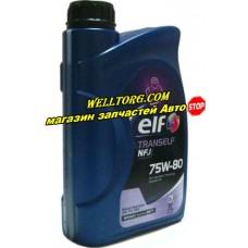 Трансмиссионное масло 75W80 194757 Elf Tranself NFJ