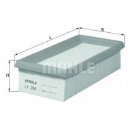 Воздушный фильтр LX266 Knecht (Mahle Filter)
