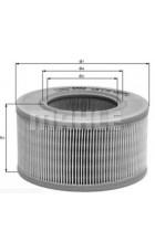 Воздушный фильтр LX330 Knecht (Mahle Filter)