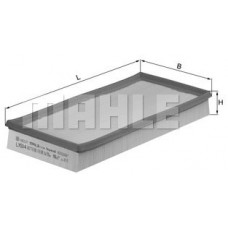 Воздушный фильтр LX504 Knecht (Mahle Filter)