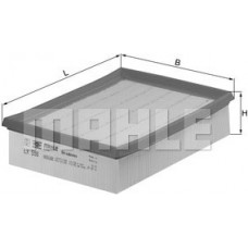 Воздушный фильтр LX598 Knecht (Mahle Filter)