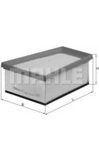 Воздушный фильтр LX773 Knecht (Mahle Filter)