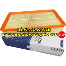 Воздушный фильтр LX786 Knecht (Mahle Filter)