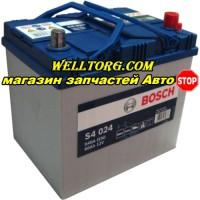 Аккумулятор 0092S40240 Bosch S4 Silver Asia 60Ah (540A)