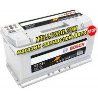 Аккумулятор 0092S50130 Bosch S4 Silver 100Ah (830A)
