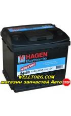 Аккумулятор 54459 Hagen 44Ah (360A)