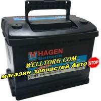 Аккумулятор 55565 Hagen 55Ah (460A)