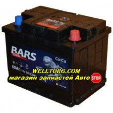 Аккумулятор Bars Silver 60Ah (500A)
