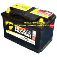 Аккумулятор Black Horse 75Ah (680A)