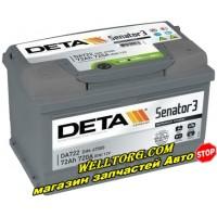 Аккумулятор DA722 Deta Senator 72Ah (720A)