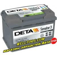 Аккумулятор DA770 Deta Senator 77Ah (760A)