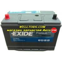 Аккумулятор EA1005 Exide Premium JIS 100Ah (850A)