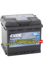 Аккумулятор EA530 Exide Premium 53Ah (540A)