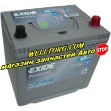 Аккумулятор EA654 Exide Premium JIS 65Ah (580A)