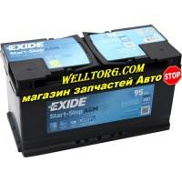 Аккумулятор EK950 Exide Start-Stop AGM 95Ah (850A)