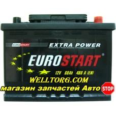 Аккумулятор Eurostart 60Ah (480A)