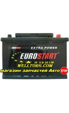 Аккумулятор Eurostart 75Ah (615A)