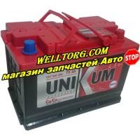 Аккумулятор Unikum 75Ah (550A)