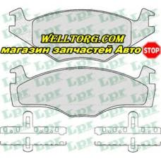 Тормозные колодки 05P225 LPR