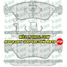 Тормозные колодки 05P810 LPR