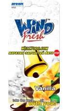 Ароматизатор WF05 Areon Wind Fresh Vanilla