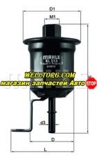 Топливный фильтр KL513 Knecht (Mahle Filter)