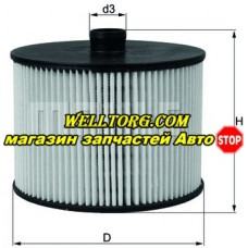 Топливный фильтр KX201D Knecht (Mahle Filter)