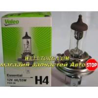 Галогеновые лампы H4 032007 Valeo 12V 60/55W