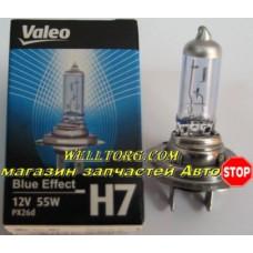 Галогеновые лампы H7 032521 Valeo Blue Effect 12V 55W
