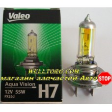 Галогеновые лампы H7 032523 Valeo Aqua Vision 12V 55W