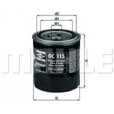 Масляный фильтр OC115 Knecht (Mahle Filter)