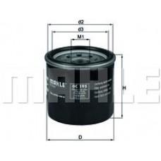 Масляный фильтр OC195 Knecht (Mahle Filter)