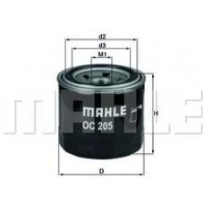 Масляный фильтр OC205 Knecht (Mahle Filter)