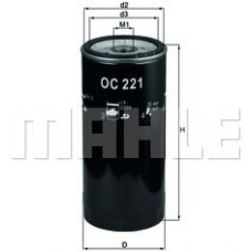 Масляный фильтр OC221 Knecht (Mahle Filter)