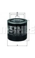 Масляный фильтр OC23 Knecht (Mahle Filter)
