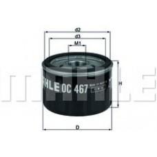 Масляный фильтр OC467 Knecht (Mahle Filter)