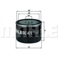Масляный фильтр OC471 Knecht (Mahle Filter)