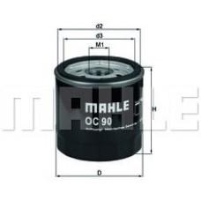 Масляный фильтр OC90 Knecht (Mahle Filter)